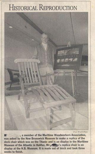 Titanic Chair 033198