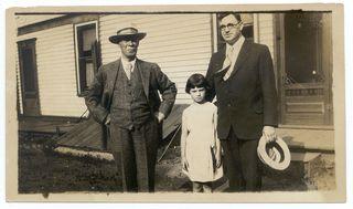 1930 R B Dewar Glen and her Dad