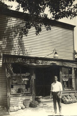 John Hendricks White Villa grocery