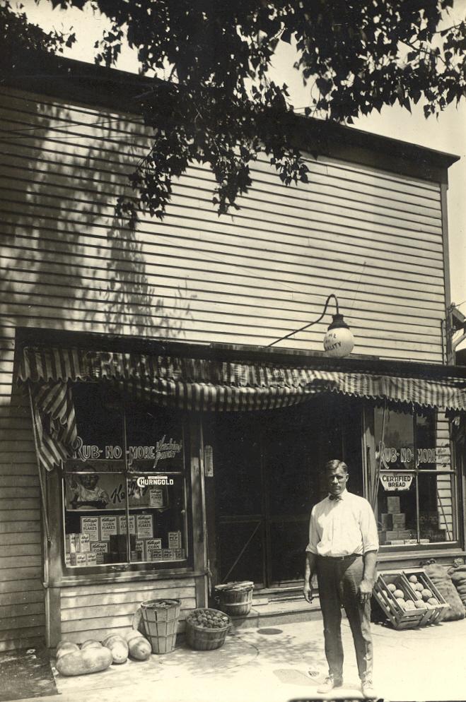 John Hendricks White Villa grocery