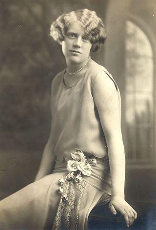 1929 Olive HS grad portrait